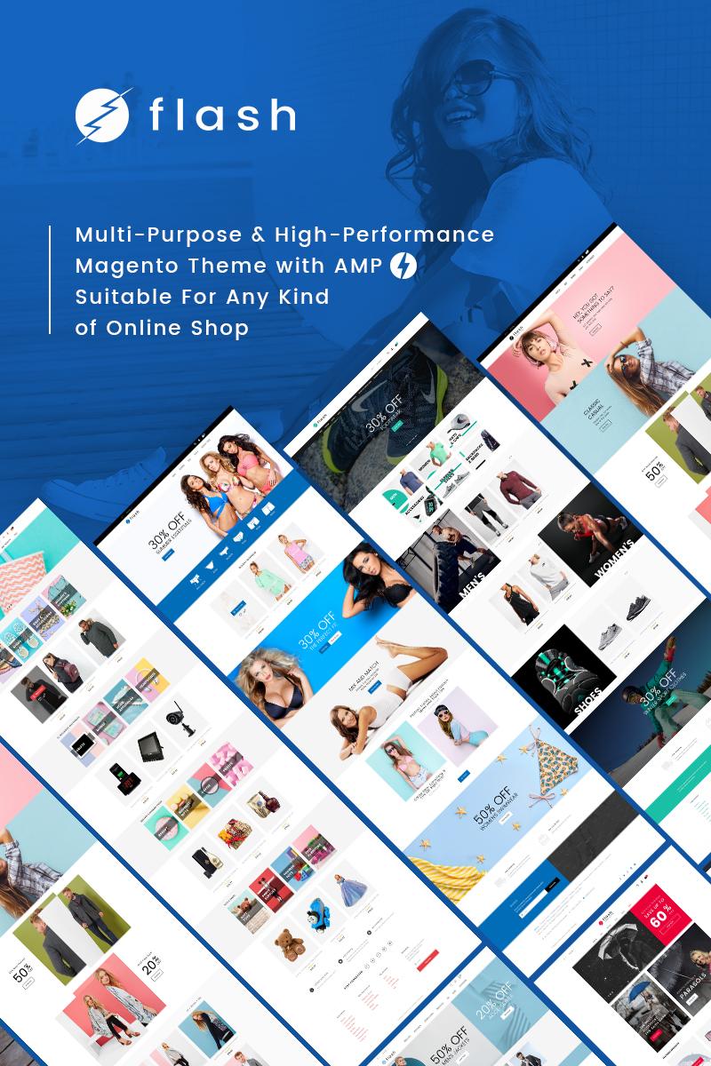 Flash - Çok Amaçlı ve Yüksek Performanslı Magento Teması